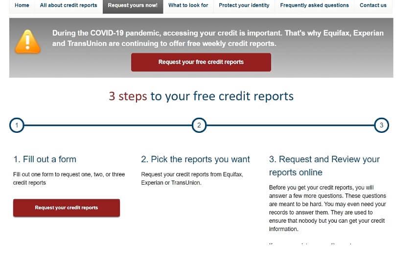 AnnualCreditReport.com website