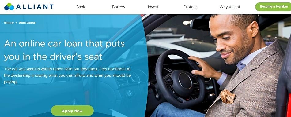 Alliant car loan