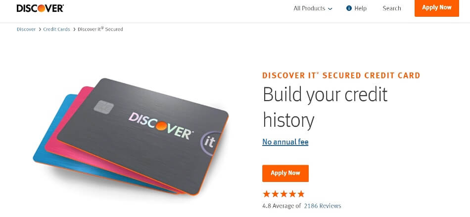 Discover secure credit card