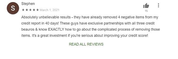 credit repair.com positive review
